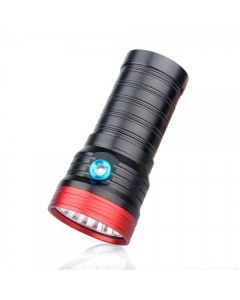Sky Ray S118 18T6 18XCREERE XM-L T6 15000-LUMEN USB Oplaadbare LED Zaklamp Torch