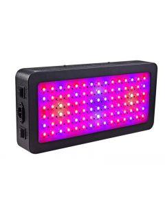 LED Grow Light, 600 Watt Volledig Spectrum Plantlicht met schakelaar, IRV-groeiende lampkits voor kashydroponic zaailing Veg en bloem