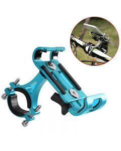 Aluminium Mobiele telefoon Houder staat voor fiets motorfiets metalen mountainbike racefiets telefoonhouder