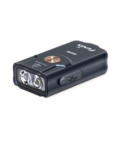 Fenix E03R 260 lumen LED EDC USB oplaadbare MINI Key Light Zaklamp