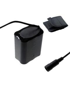 5521 DC interface 8.4V 6 x 18650 13200mAh fiets koplamp batterij voor LED fiets licht