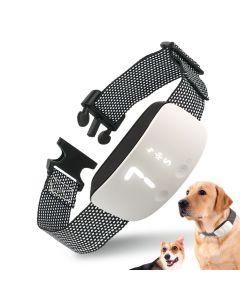 Nieuwe Touch 7 Level Screen Dog Bark Shock Training Collar Waterdicht Oplaadbare Statische Schok Anti No Bark Collar Dog Training