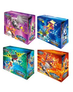 2021 Nieuwe 4x360 stks Pokemon TCG: Shining Fates Booster Box Trading Card Game Collection Toys