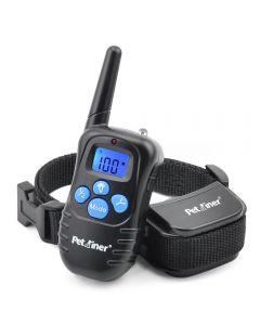 Petiner 998D 300m Remote Electric Dog Collar Shock Trilling Oplaadbare Rainproof Dog Training Collar met LCD-scherm