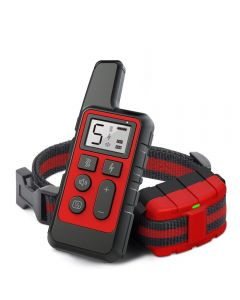 Nieuwe Dog Training Collar Oplaadbare Waterdichte Remote Elektrische Hond Shock Collar met vibratie pieptoon Training Dog Collar Electronic