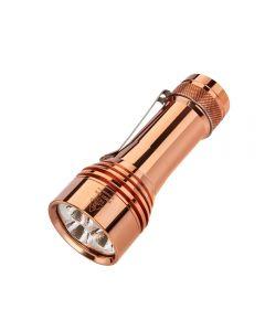 Lumintop FW21 PRO Copper Cree XHP50.2 ,000 lumen LED 21700 batterij EDC Zaklamp