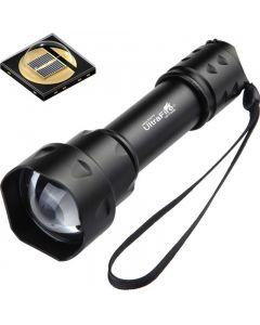 Ultrafire T20 10W zaklamp 850nm 940nm nachtzicht Zoomable LED-zaklamp