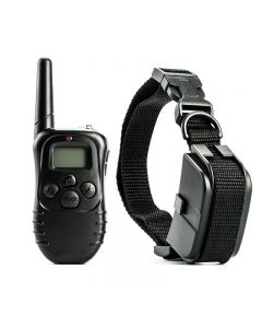 300m Elektrische Dog Training Kraag Waterdichte Pet Afstandsbediening met LCD-afstandsbediening voor alle Size Shock Vibration Sound Pet Collar