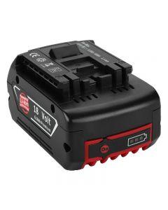 2020 NIEUWE 18V oplaadbare batterij voor Bosch 18V Batterij back-up draagbare vervanging voor Bosch BAT609 Indicator licht