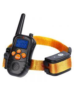 Nieuwe 300m Remote Electronic Dog Training Collars met LCD Blue Screen Display Oplaadbare 100 niveaus Pet Elektronische halsbanden