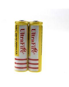 UltraFire BRC 18650 5000 MAH LI-ion oplaadbare batterij (1 paar)