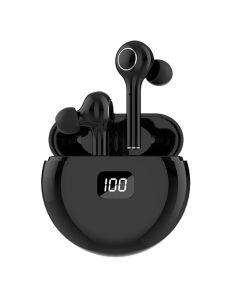 TWS Bluetooth 5.0 Oortelefoons 400mAh Oplaadbox Draadloze Hoofdtelefoon 9D Stereo Sports Waterdichte oordopjes Headsets met microfoon