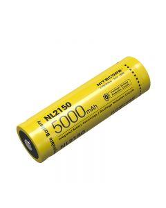 Nitcore nl2150 5000mAh 3.6V 18WH 21700 Li-ion oplaadbare batterij