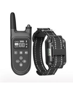 2021 Nieuwe 800m Elektrische Dog Training Collar PET Afstandsbediening Waterdicht oplaadbaar met LCD-display voor ALL Size Shock Trillingsgeluid