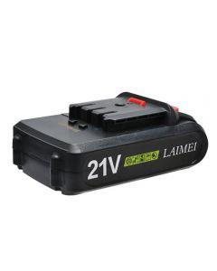 21V lithium batterij li-ion batterij power tools oplaadbare boormachine voor draadloze schroevendraaier batterij elektrische boor