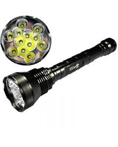 UltraFire 12T6 CREE XM-L T6 13800 Lumen 5-Mode High Power LED-zaklamp