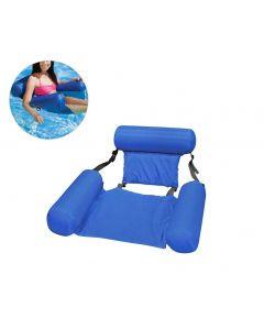 Zomer opblaasbare drijvende rij water hangmat opblaasbare lucht matras zwembad strand drijvende slaap kussen bed stoel