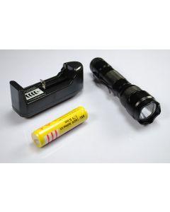 UltraFire WF-502B XML U2 LED-zaklamp met 18650 batterij en oplader