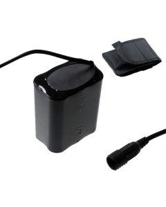 Schroef vaste interface 8.4V 6 x 18650 13200mAh fiets koplamp batterij voor LED fiets licht